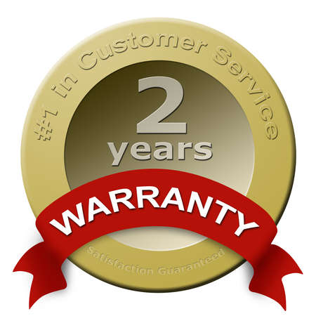 customer service: Customer Service warranty seal