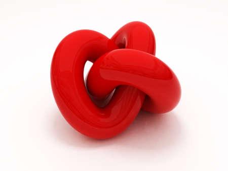 3D Gordian knot
