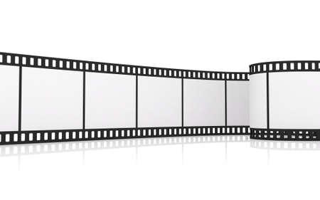 Roll film: 35 mm para tiras de pel�cula Foto de archivo