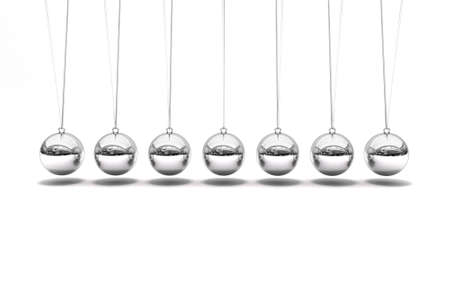 Newton s time cradle pendulum Stock Photo - 13276641