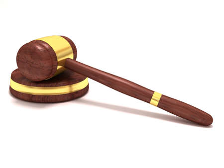 Gavel Stock Photo - 13343771