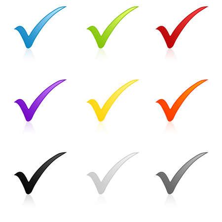 garrapata: Control conjunto de colores marca