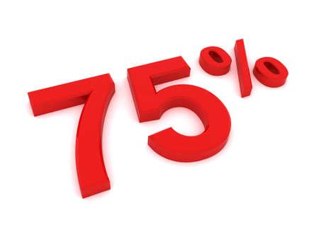 installment: 75 percent