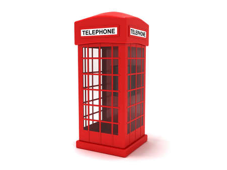 english culture: Telephone booth