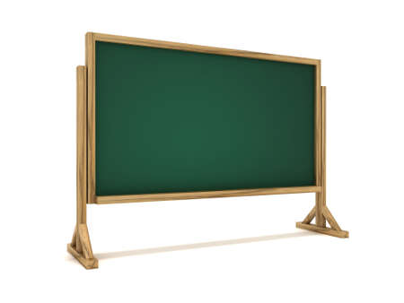 Chalkboard or blackboard