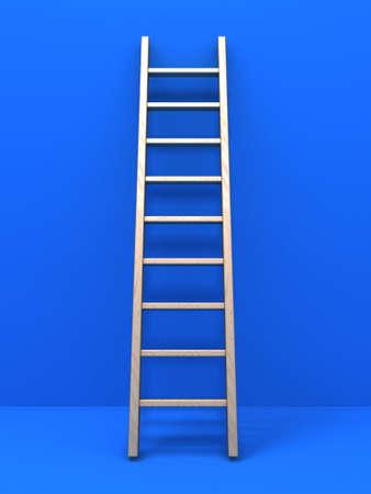 Wooden ladder 版權商用圖片