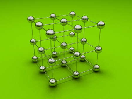 Abstract cube Stok Fotoğraf - 13343760