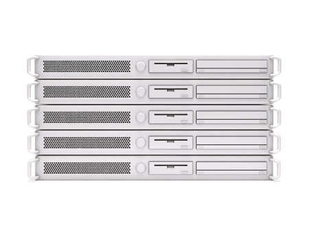 high powered: Rack servers