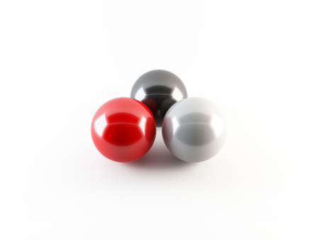 3D spheres Stock Photo - 13370674
