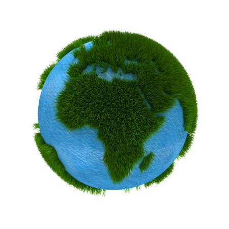 3D Earth photo