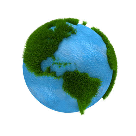 3D Earth photo