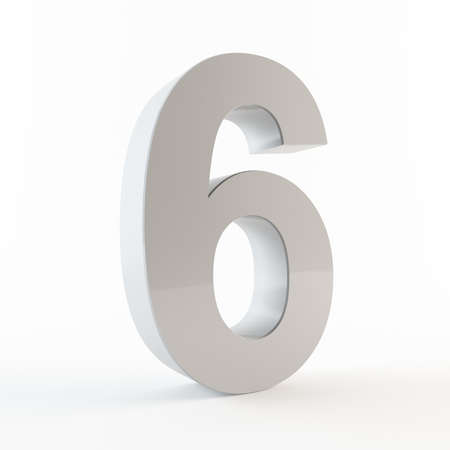 numerical value: Number 6