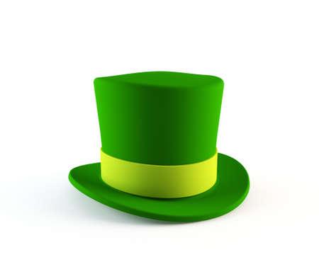 glittery: St Patrick s leprechaun hat