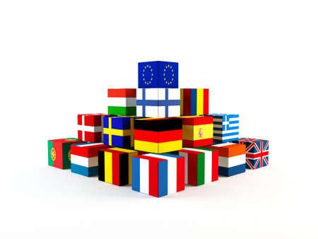欧州連合 写真素材