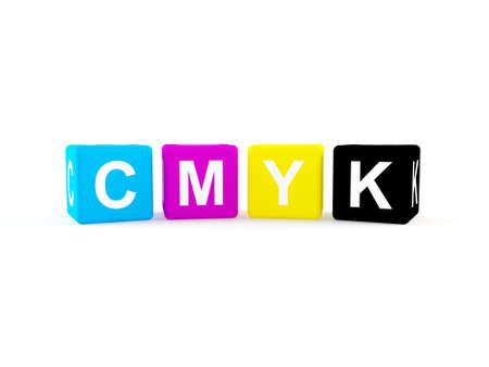 polygraphic: CMYK icon