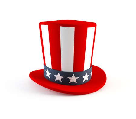 4th of July hat Foto de archivo