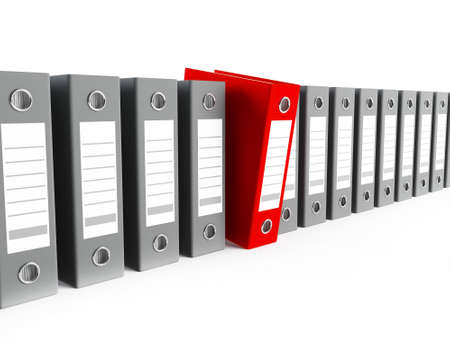 Office binders Stock Photo - 13496580