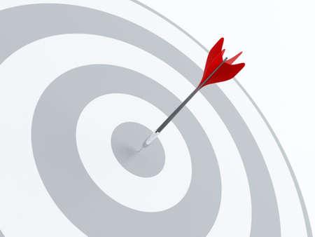 bow arrow: On target