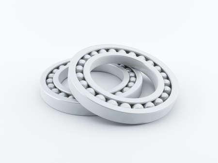 ball bearing: Ball bearings Stock Photo