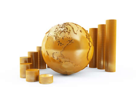 Finanza globale Archivio Fotografico - 13496570