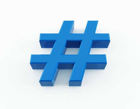 Number symbol 写真素材