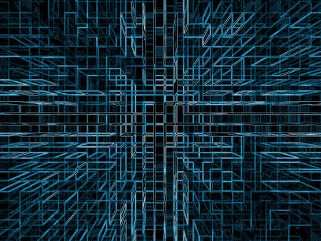 imagery: Structural Imagery, blue on black