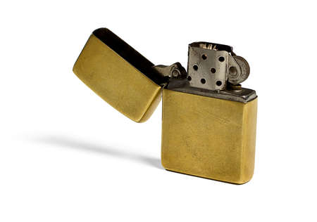 Gold Lighter Stock Photo - 21967689