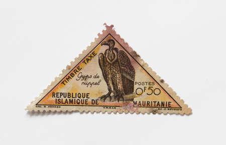 Old vintage postal stamp