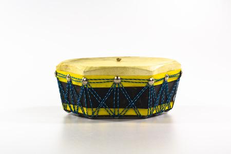 etnic: etnic drum isolated on white background