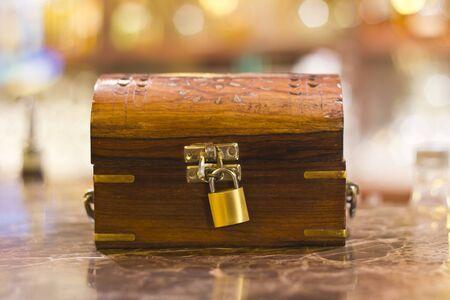 treasure box with lock