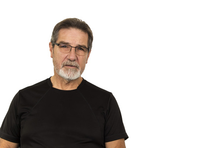 60 years old: good looking old man