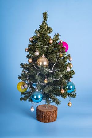 fake plastic christmas tree