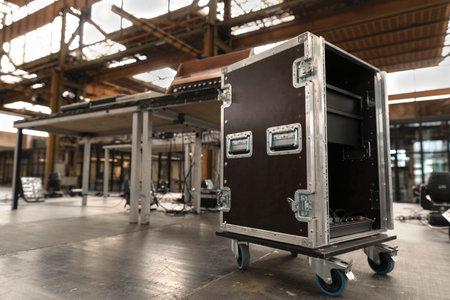Concert, event, production music, sound, light equipment cases