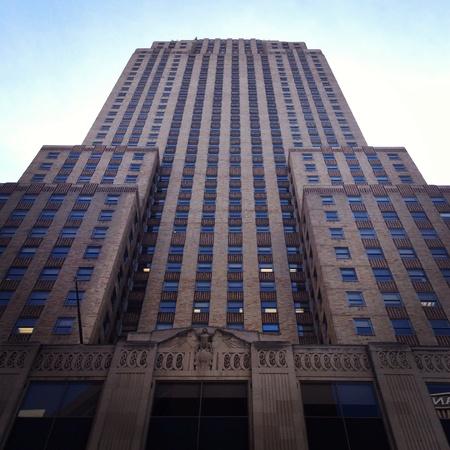 artsy: Carew Tower in Cincinnati Stock Photo