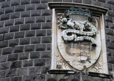 sforza: Sforza Family emblem, Milan symbol