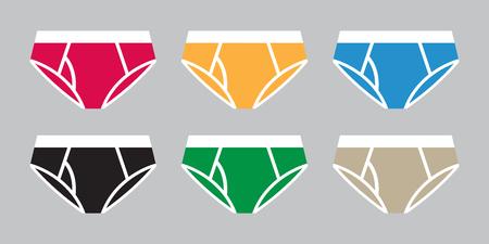 Underwear panties vector illustration icon cartoon