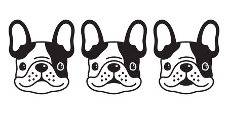 dog vector french bulldog icon cartoon character illustration symbol graphic doodle