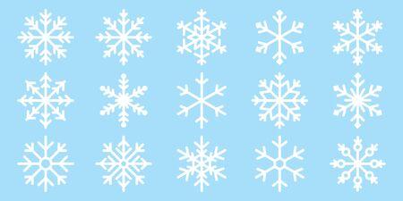 Snowflake vector Christmas icon logo snow Xmas Santa Claus cartoon character illustration symbol graphic Foto de archivo - 130568219