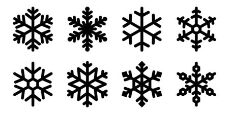 Snowflake vector Christmas icon snow Santa Claus Xmas cartoon character illustration symbol graphic
