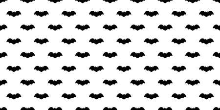 bat seamless pattern vector Halloween dracula Vampire ghost cartoon doodle gift wrap paper illustration design