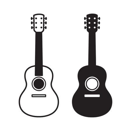guitar vector bass ukulele icon logo symbol music cartoon character graphic illustration doodle design