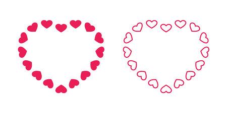 heart vector valentine icon symbol cartoon character illustration doodle design Illustration