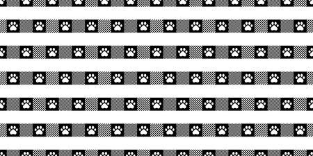 dog paw seamless pattern illustration design 일러스트