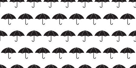 umbrella seamless pattern raining isolated cartoon tile wallpaper repeat background illustration design 일러스트