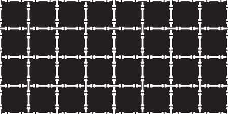 dog bone seamless pattern checked vector french bulldog pet puppy cartoon skeleton halloween repeat wallpaper tile background scarf isolated illustration doodle black design 向量圖像