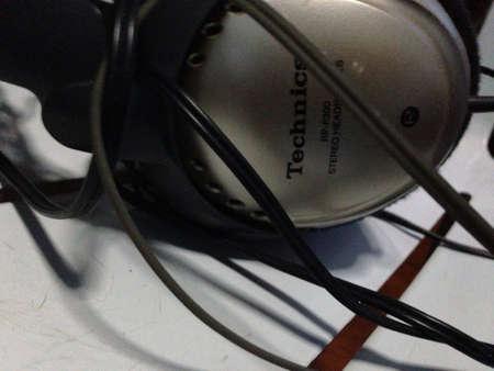 technics tcnico auriculares foto de archivo