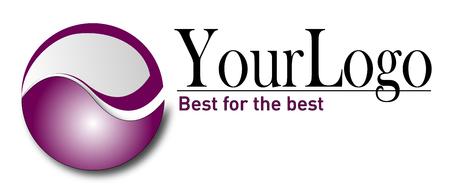 logo vector: Business, corporation elegant logo, clean vector render.