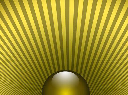 shinning: Shinning sphere sun pattern