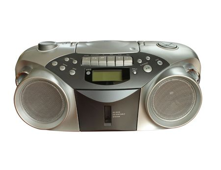 Portable Stereo CD Radio Cassette Recorder Stock Photo - 6118511