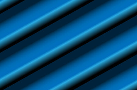 sloping: Abstract background, blue diagonal 3D lines, illustration